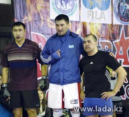 В соревнованиях по смешанным боям общекомандное первое место досталось мангистауским спортсменам (ФОТО)