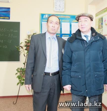 Аким области Алик Айдарбаев с рабочей поездкой посетил Мунайлинский район