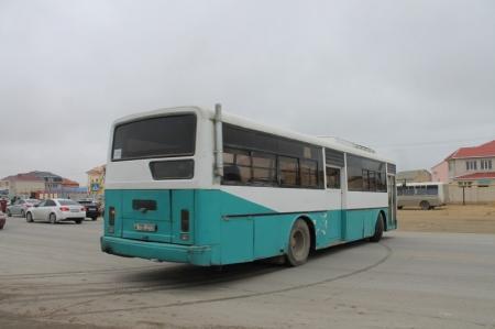 В Актау водитель управлял пассажирским автобусом без документов и без доверенности