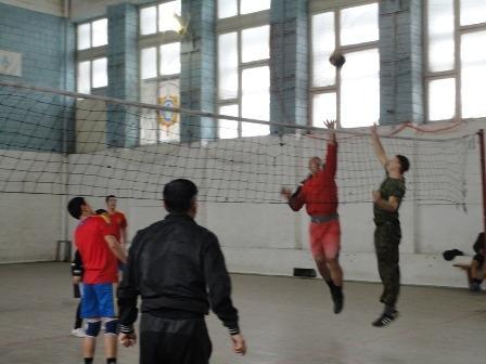 В Мангистауской области прошел турнир по волейболу среди спасателей
