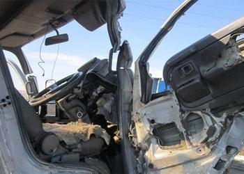 При столкновении автомашин «Toyota Camry» и «NOWO»  на трассе Жанаозен-Актау тяжелые травмы получила пассажирка