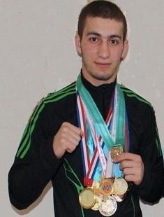 Актауский спортсмен примет участие в чемпионате мира по рукопашному бою