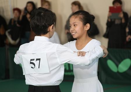 В Актау прошел детский турнир по спортивным бальным танцам