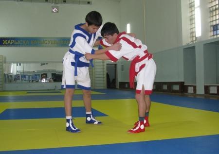 Казахша курес  – казахская борьба, широко известная издревле
