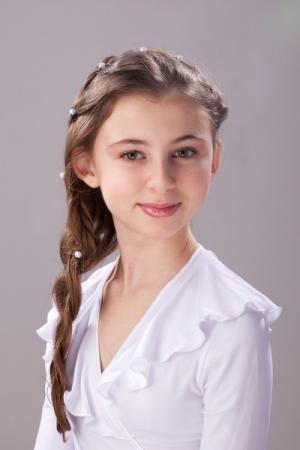 Участницы конкурса «Юная красавица Актау-2013» поздравляют город с 50-летием