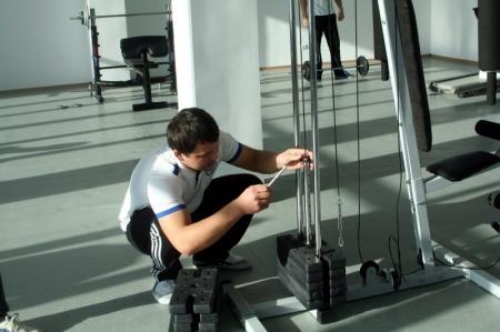 В Актау открылся первый студенческий спортивный комплекс