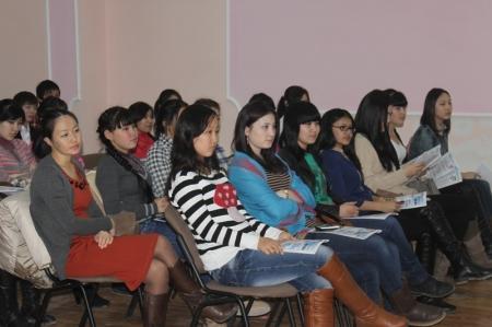 В Актау прошла встреча с молодежью на тему: «Начни свой бизнес»