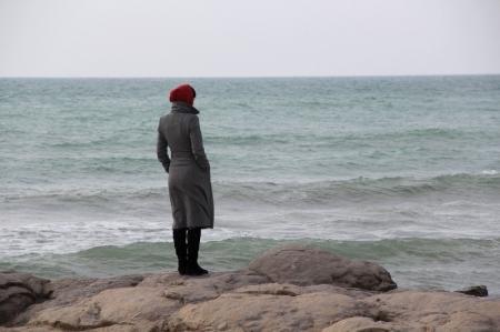 Фотопост. Каспий в феврале