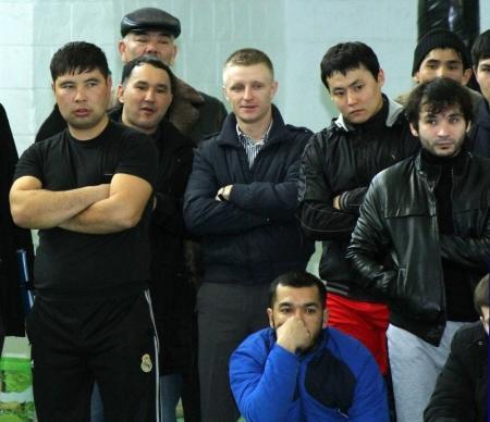 УВД Актау заняло первое общекомандное место в соревнованиях по борьбе самбо