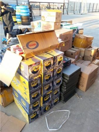 В морском порту Актау таможенники задержали контрабандный товар из ОАЭ