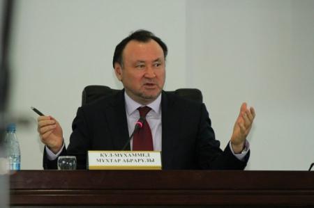 Министр культуры и информации Казахстана Мухтар Кул-Мухаммед посетил Мангистау