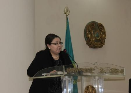 Аида Курмангалиева: Мы делаем первые шаги для того, чтобы поэтапно внедрить выборность акимов