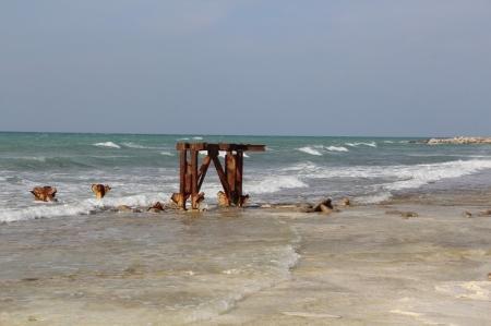 Актауский городской пляж в плачевном состоянии