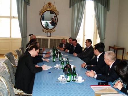 Состоялся визит делегации Мангистауской области в Чешскую Республику