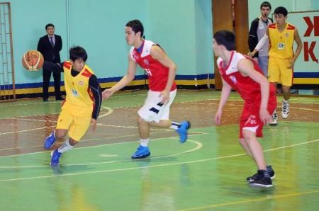 В Актау прошли финальные игры по баскетболу среди школьников