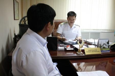 Мангистауская транспортная прокуратура проводит акцию для предпринимателей