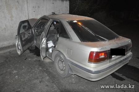 В Актау почти в одно время были угнаны сразу две автомашины «Мазда-626»