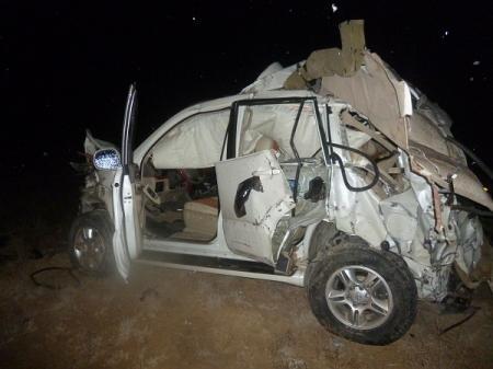 В ДТП на автотрассе Актау-Жанаозен погибли четыре человека