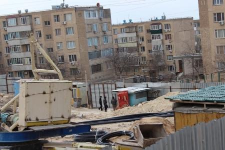 Жители Актау протестуют против застройки внутри микрорайона