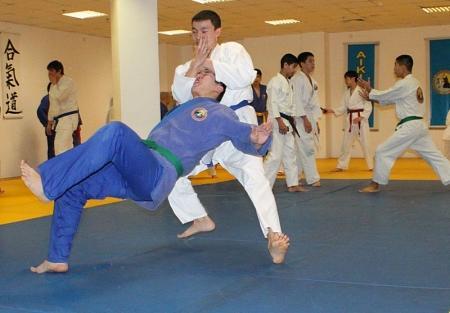 Айкидо - боевое искусство, основанное на использовании силы самого противника