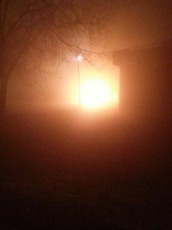 В Актау сегодня ночью сгорел автобус и восемь автомашин