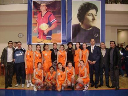 Актауские баскетболистки заняли третье место на международном турнире в Армении