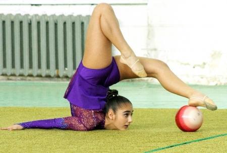 В Актау прошел ежегодный турнир по художественной гимнастике
