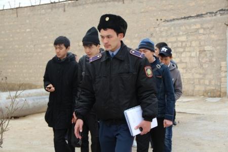 Актауских школьников отправили в изолятор временного содержания