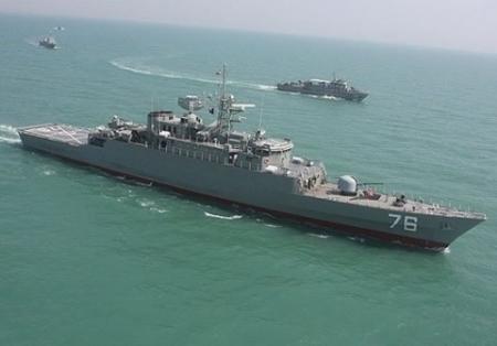 Иран отправил в Каспийское море новый эсминец