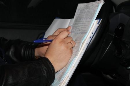 В Актау на 27-летнего водителя составлено пять административных протоколов