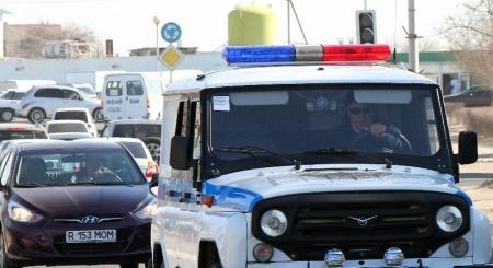 В праздничные дни мангистауская полиция будет работать в усиленном режиме