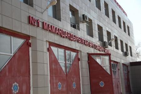 В Актау спасатели ДЧС Мангистауской области встретили  Наурыз