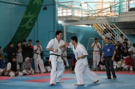 В Актау стартовал чемпионат Казахстана по кекушинкай каратэ среди мужчин