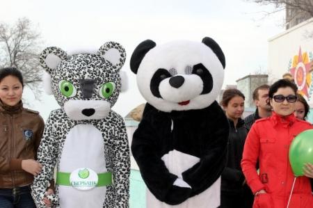 В Актау прошла акция «Час Земли-2013»
