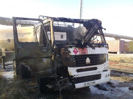 В Мангистау за прошедшую неделю горели три автомашины