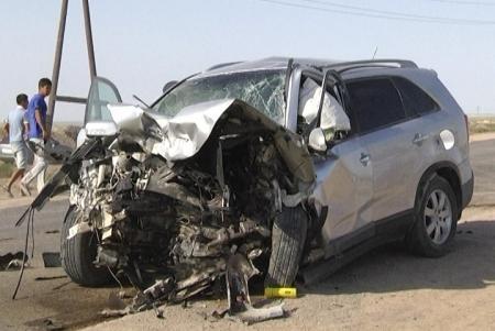 Водитель, по вине которого погибли 8 человек на автотрассе Актау-Баянды, получил три года колонии