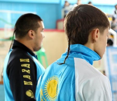 На чемпионате Казахстана по Ушу среди юниоров мангистауские спортсмены завоевали более 25 золотых медалей