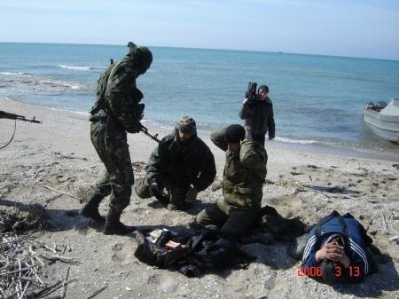 Морские части Пограничной службы КНБ Республики Казахстан отмечают юбилей
