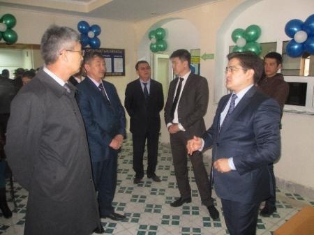 В городе Жанаозен открыт Центр поддержки предпринимателей