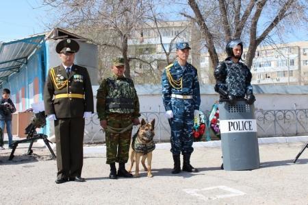 В воинской части 6656 почтили память солдат Казбата, погибших на Таджико-Афганской границе