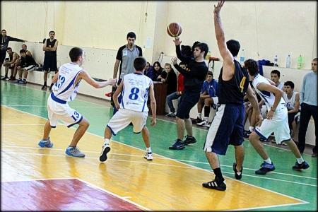 В Любительской лиге по баскетболу Мангистауской области определились участники плей-офф