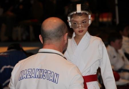 Спортсмен из Актау выступил  на чемпионате мира по каратэ-до в Лас Вегасе