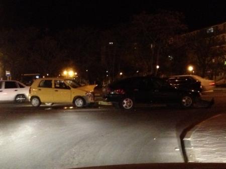 Авария на перекрестке 12 и 27 микрорайонов
