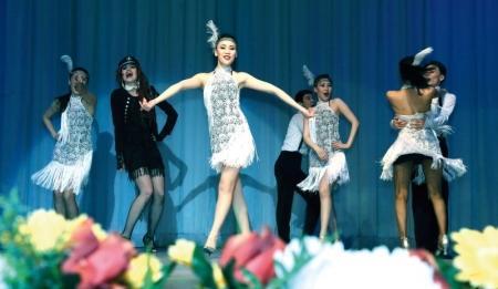 Ансамбль песни и танца МВД РК выступил для жителей Мангистау