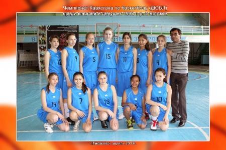 Актауские баскетболистки по итогам первого тура чемпионата РК занимают первое место