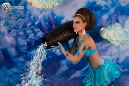 В Актау для непрофессиональных моделей была организована фотосессия «Знаки зодиака»