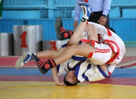 Актауский борец за пять секунд стал победителем отборочного этапа «Казакстан барысы»