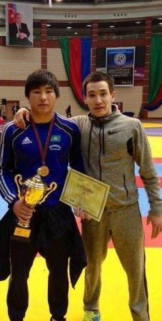 Актауский борец завоевал «золото» на международном турнире в Азербайджане