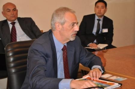В акимате Актау встретили делегацию из Италии