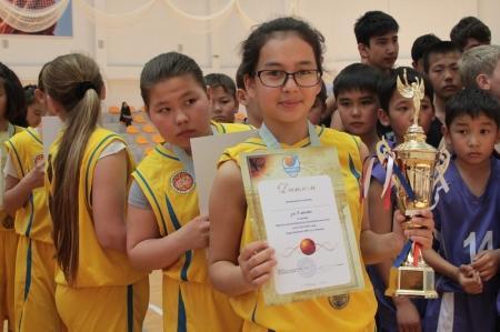 В Актау завершились финальные игры баскетбольной школьной лиги